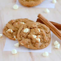 Oatmeal Molasses Cookies with White Chocolate