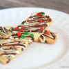 Chocolate Drizzled Christmas Cookie Sticks