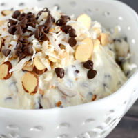 Sweet and Creamy Almond Joy Dip