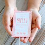 Sweet Classroom Valentine Cards (Free Printable)
