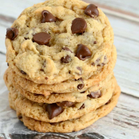 Banana Chocolate Chip Cookies (No Eggs)