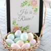 Easter Egg Resurrection Lesson - He Is Risen Printable