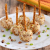 Ranch Bacon Cheese Ball Bites