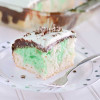 Fudgy Grasshopper Cake