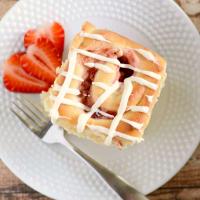 Overnight Strawberry Cream Cheese Rolls