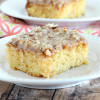 Super Easy Pineapple Cake with Boiled Icing