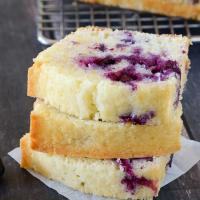 Lemon Blueberry Bread {Quick Bread Recipe}