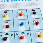 Don't Eat Frosty (Free Printable Game)