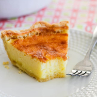 Easy Buttermilk Pie Recipe