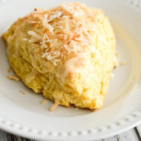 Coconut Orange Scones