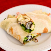 Easy Curry Chicken Salad Wrap Recipe