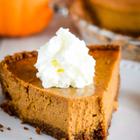 Pumpkin Pie with Sweetened Condensed Milk