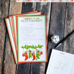 Christmas Scattergories (Free Printable Game)