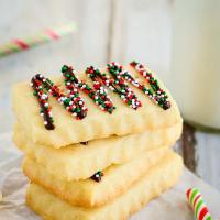 Easy Butter Shortbread Cookies