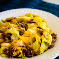 Ground Beef Taco Cabbage Skillet