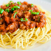 Meaty Slow Cooker Spaghetti Sauce Recipe