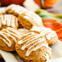 Perfectly Spiced Iced Pumpkin Cookies Recipe
