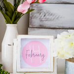 Square Art Prints for Valentines Day {free printables}