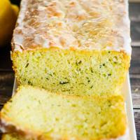 Glazed Lemon Zucchini Bread Recipe