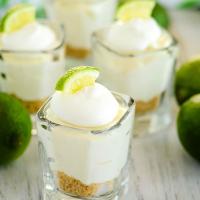 Mini No Bake Lime Cheesecake Recipe