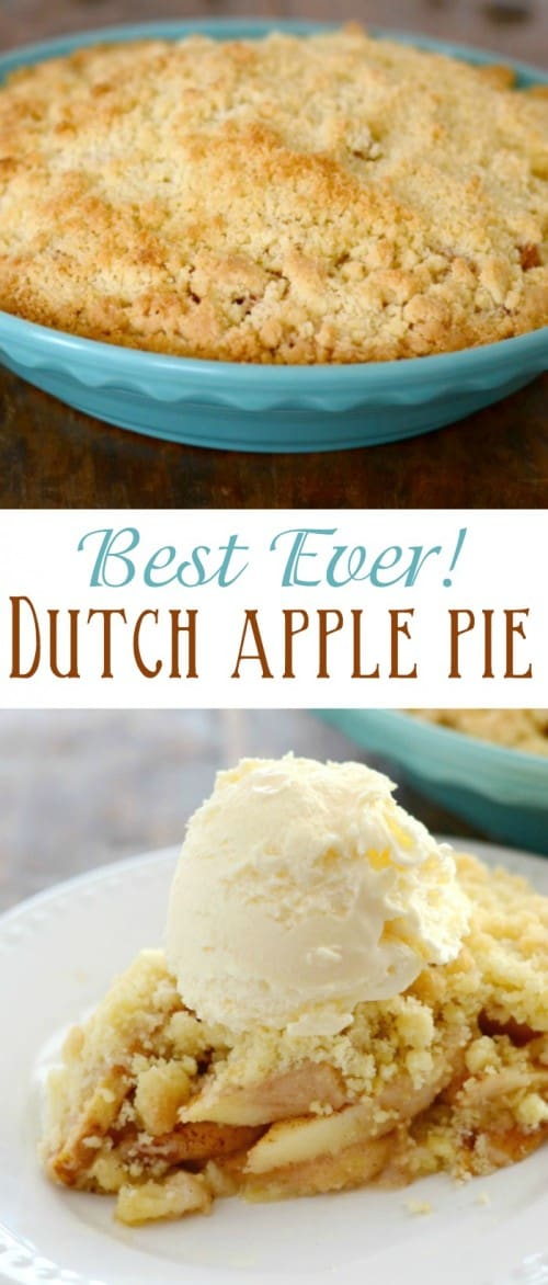 "This is the best recipe for Dutch Apple Pie ever! We call it ""Evil Apple Pie"", and it is simply divine!"