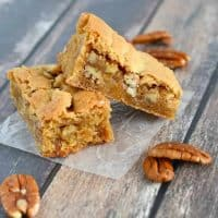 Rich and Chewy Butterscotch Bars