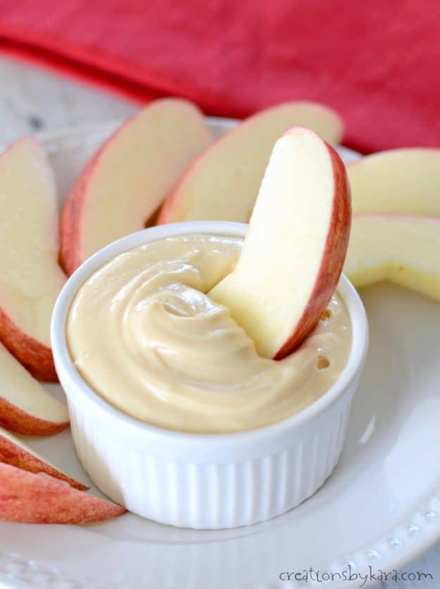 Caramel Apple Dip - a simple but delicious caramel apple dip.