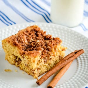 how to make cinnamon streusel coffee cake