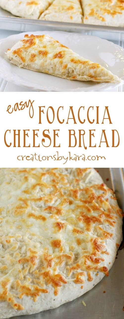 My boys love this Cheesy Focaccia Bread so much they will make it themselves. It is so easy and so yummy! A perfect side dish!