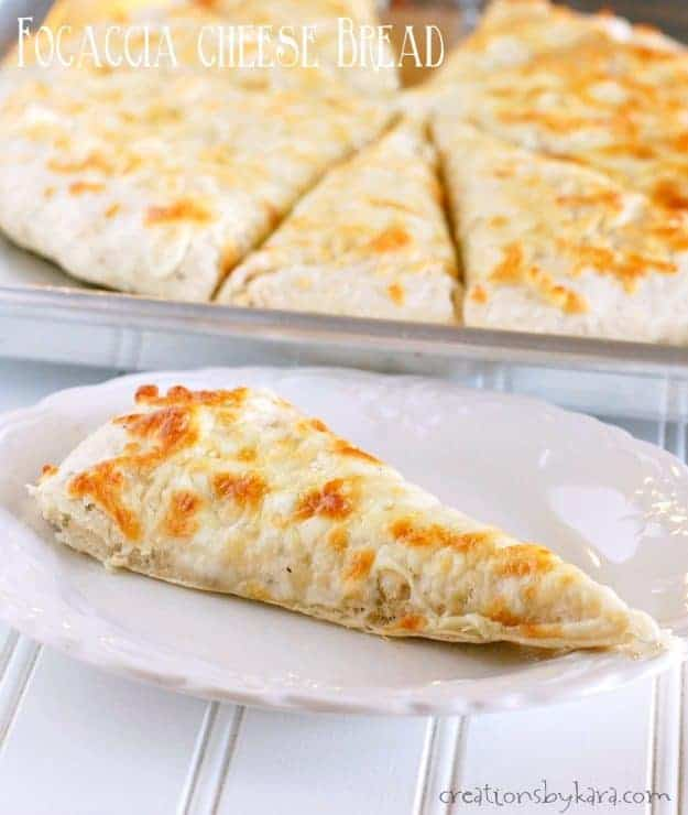 This Focaccia Cheesy Bread Is So Easy To Make But Tastes Out Of World