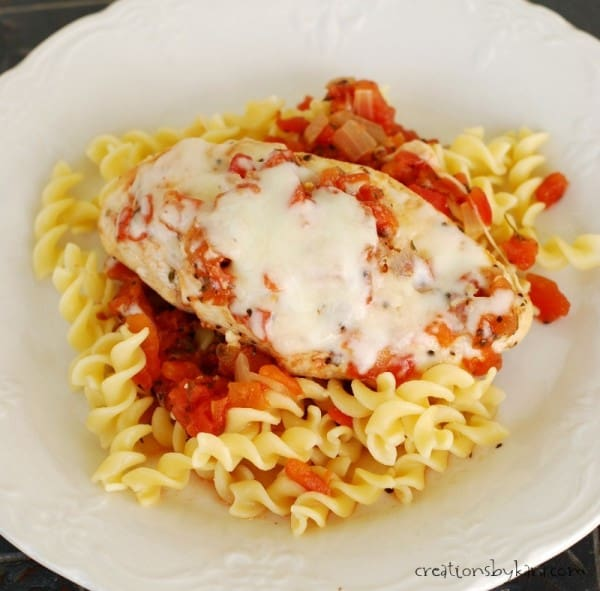 Recipe for Italian Chicken with Pasta