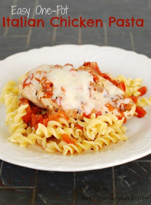 Easy Italian Chicken Pasta