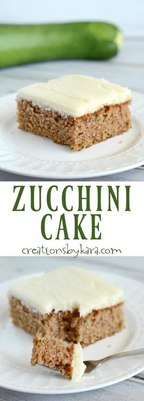 Mouthwatering cinnamon Zucchini Cake with Cream Cheese Frosting. A spectacular fall cake that everyone raves about!