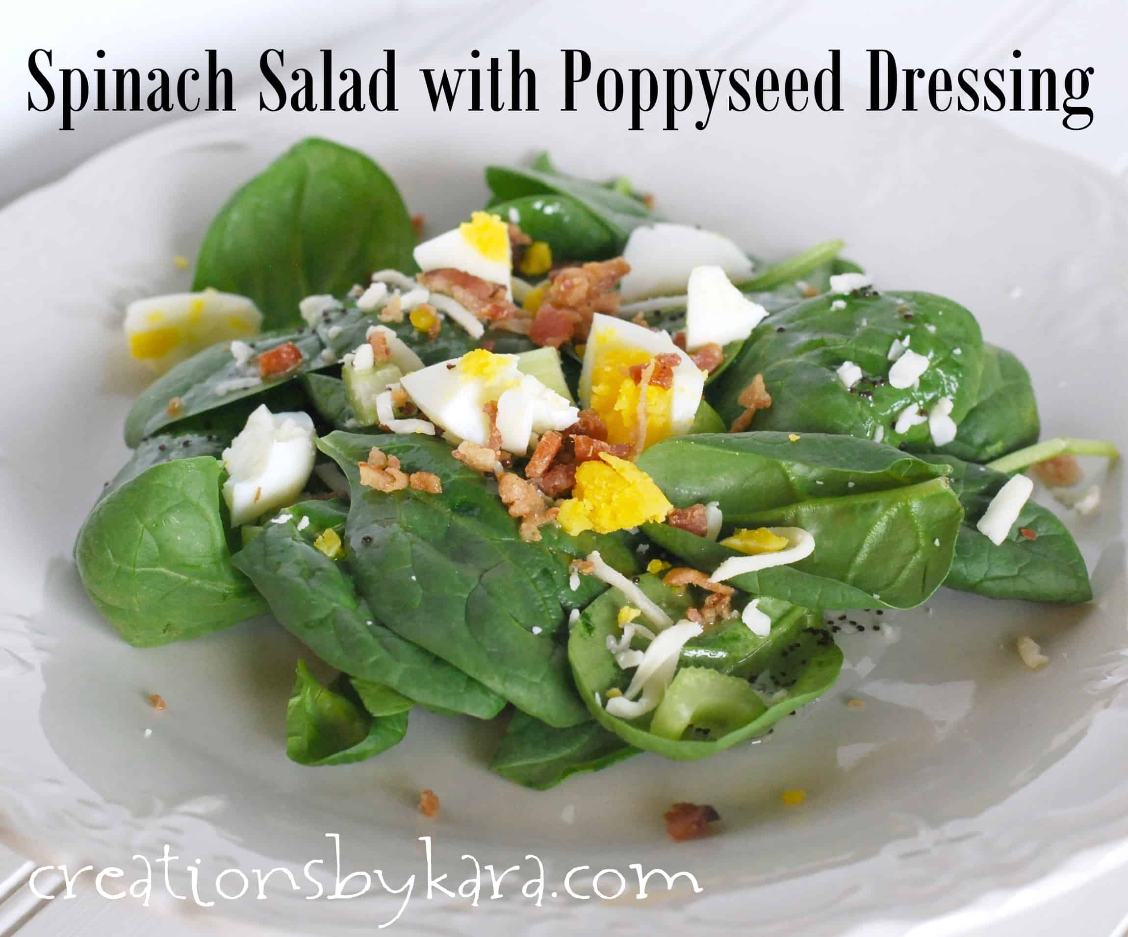 spinach-salad, poppy-seed-dressing