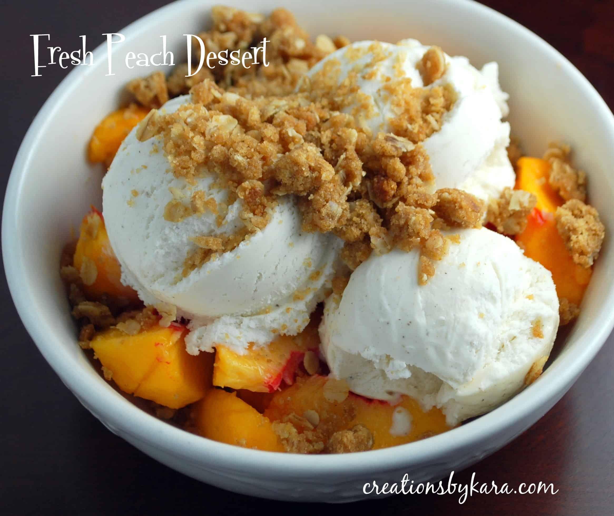 fresh-peach-dessert