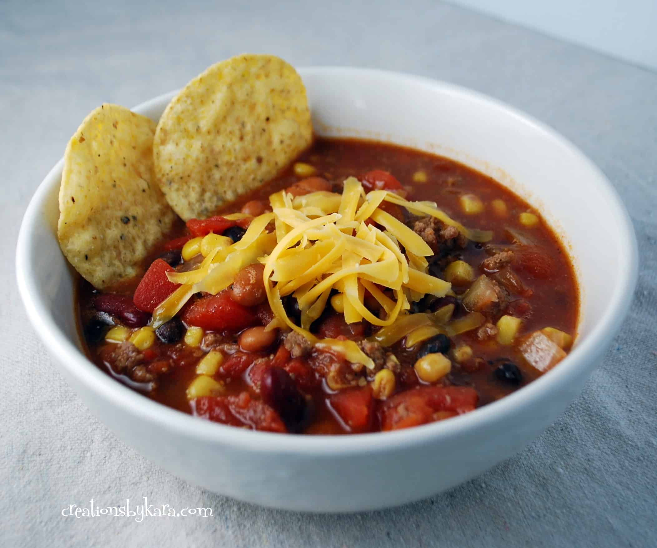 taco soup 002 - Creations by Kara