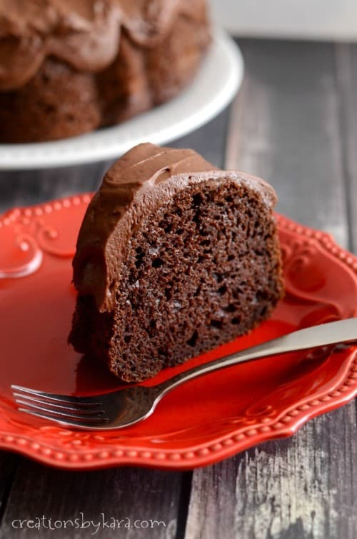 Chocolate lovers will adore this Chocolate Bundt Cake recipe. It is the best ever!