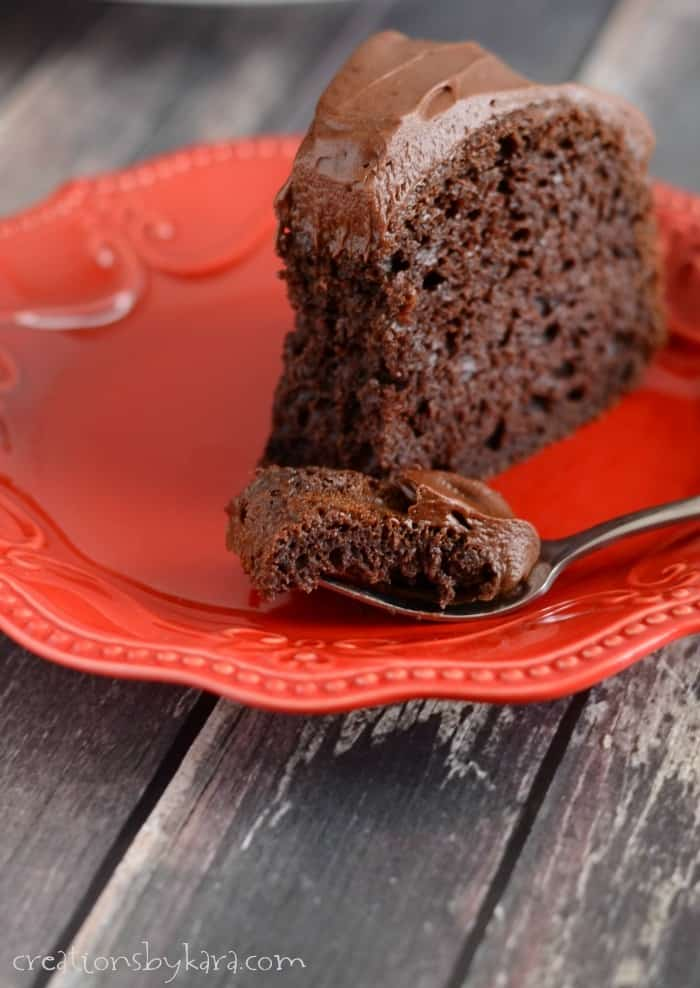 Look no further. This is the best Chocolate Cake recipe ever!