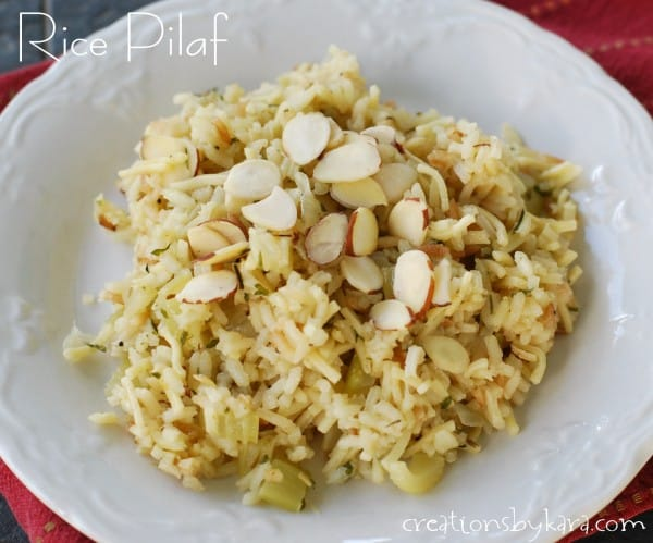Onion Rice Pilaf Recipe — Dishmaps
