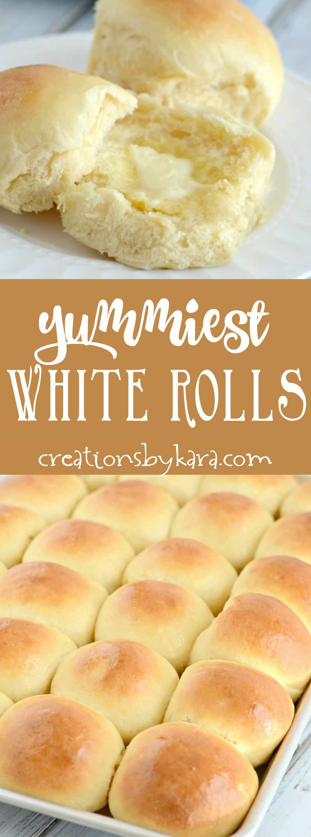 This has been a favorite dinner roll recipe for years! You will get rave reviews if you serve these yummy white rolls! The best soft and flavorful roll recipe. #dinnerrolls #rolls