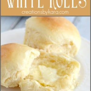 best ever white rolls pinterest collage
