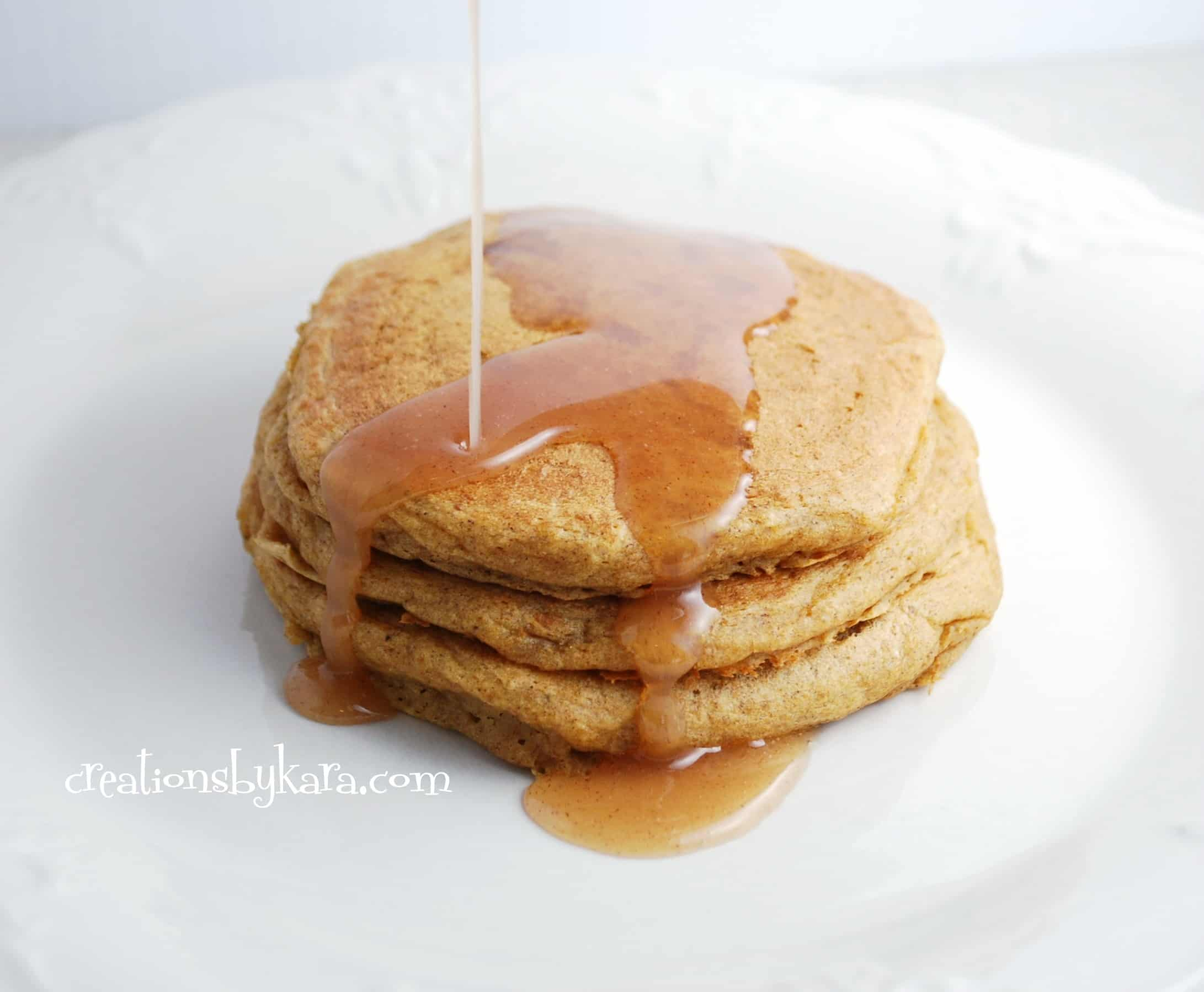 pumpkin-pancakes, recipe