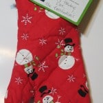 Christmas Gift Idea-Oven Mitt
