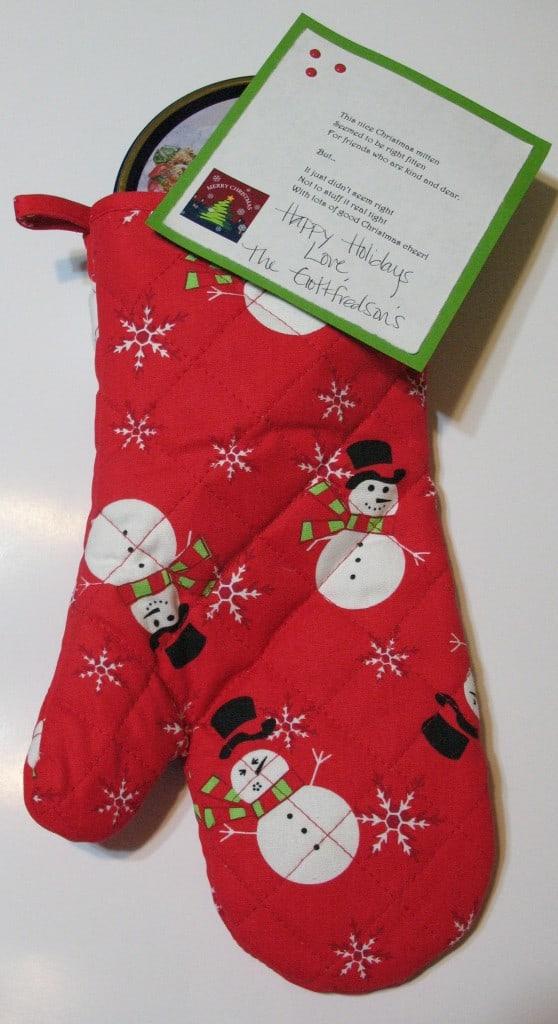 Christmas Gift Idea-Oven Mitt