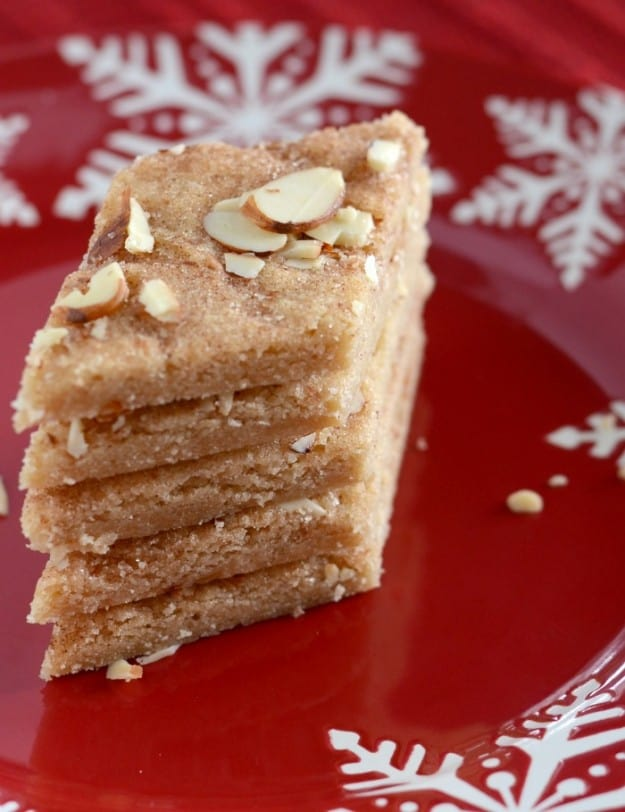 Cinnamon Sugar Bars, also called Jan Hagels, are a delicious Dutch Christmas cookie!