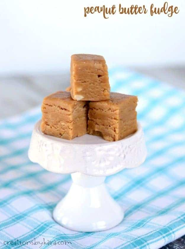 peanut butter fudge title photo