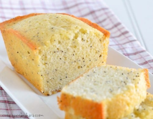 Easy and delicious poppy seed bread- a family favorite!