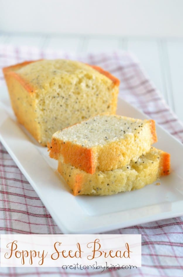 Recipe for delicious Poppy Seed Bread