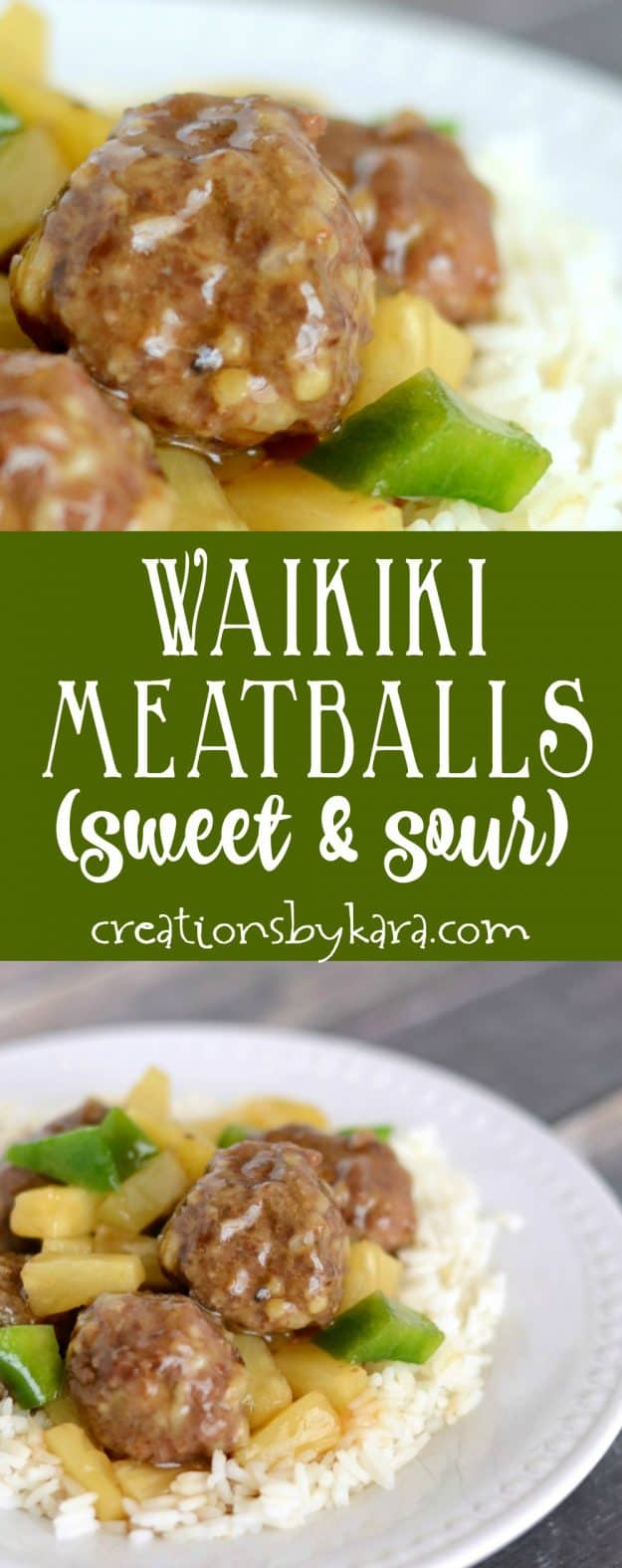 Quick and easy Sweet and Sour Meatballs are a perfect family friendly recipe. You can make them ahead and freeze them.
