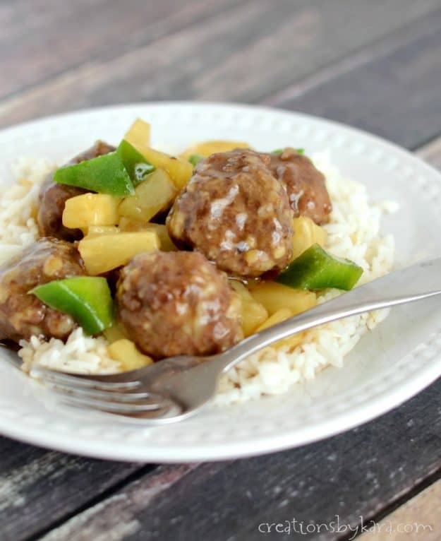How to make sweet and sour meatballs that everyone will love.